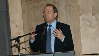 Regierungsrat Peter Beyeler in Rheinfelden