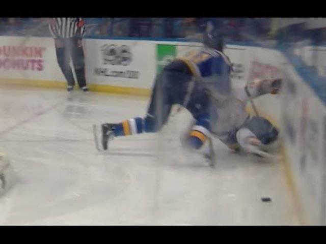 Die Verletzung von Kevin Fiala im Video.