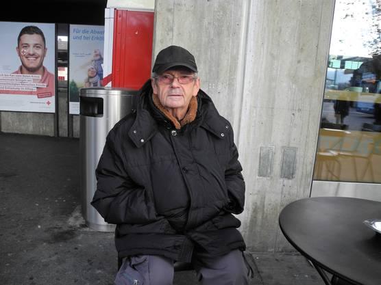 Max Kälin, 75, Dietikon