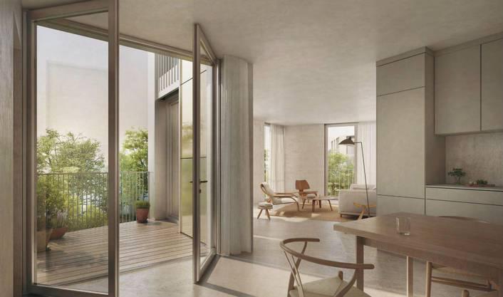 Das Siegerbüro  Duplex Architekten punktete aber auch mit modernen Grundrissen.
