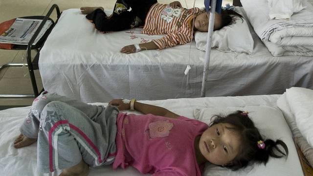 Bleivergiftungen sind in China keine Seltenheit (Archiv)