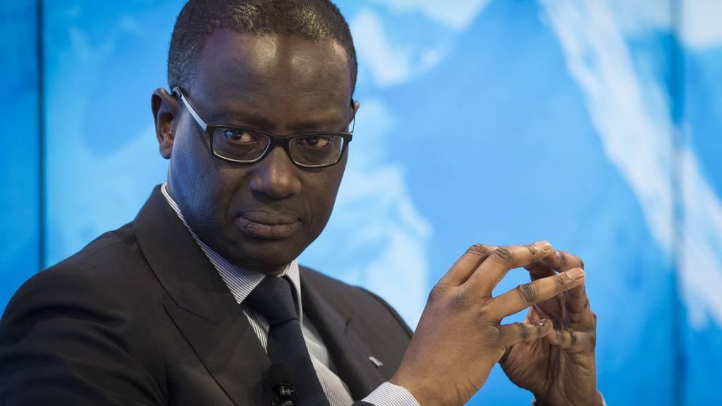 Tidjane Thiam verdient «nur» noch 11,9 Millionen Franken.