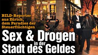 Das schreibt die deutsche Boulevard-Zeitung «Bild» über die Schweiz.