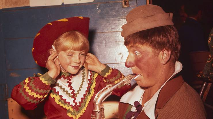 Pio (Pius) Nock ist eines der berühmtesten Mitglieder der Nock-Familie. Er tritt auch im Circus Knie oder – wie hier – im Circus Pilatus auf.