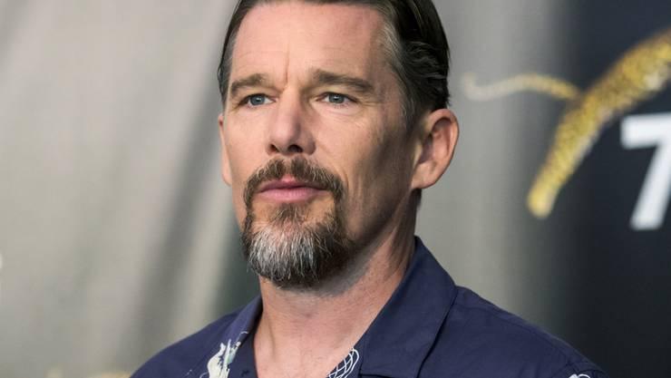 """Ruhm ist dem US-Schauspieler und -Regisseur Ethan Hawke nicht geheuer - seinen """"Excellence Award"""" wird er am heutigen Filmfestivalabend in Locarno aber trotzdem gerne entgegennehmen."""
