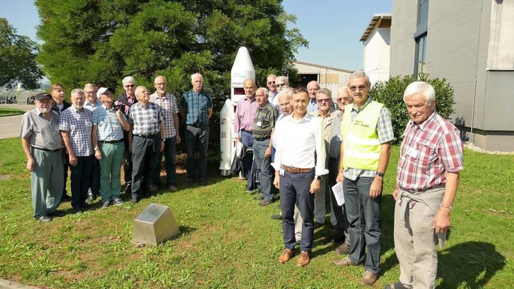 Bosmeler Senioren auf Besuch bei RUAG Aviation in Emmen