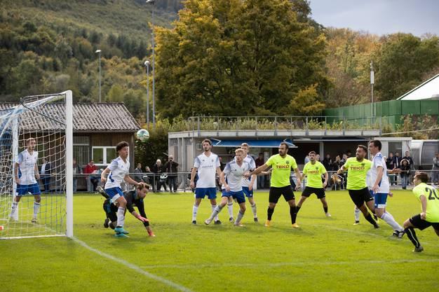 Bei den insgesamt 15 Eckbällen schaute nichts Zählbares heraus für den FC Olten.