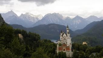 Das Schloss Neuschwanstein in Bayern. (Archiv)