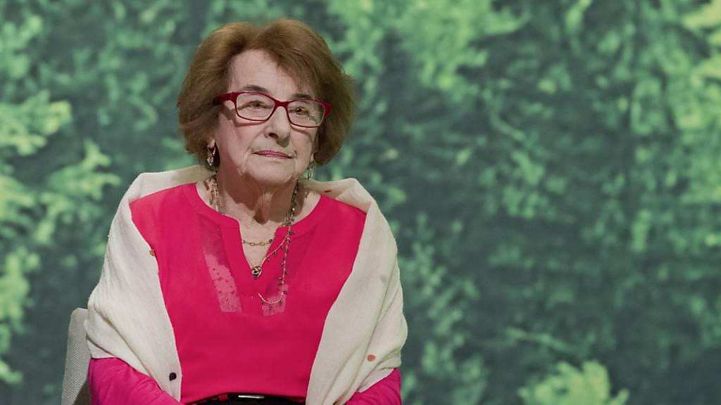 Holocaust-Überlebende Hanni Lévy mit 95 Jahren gestorben