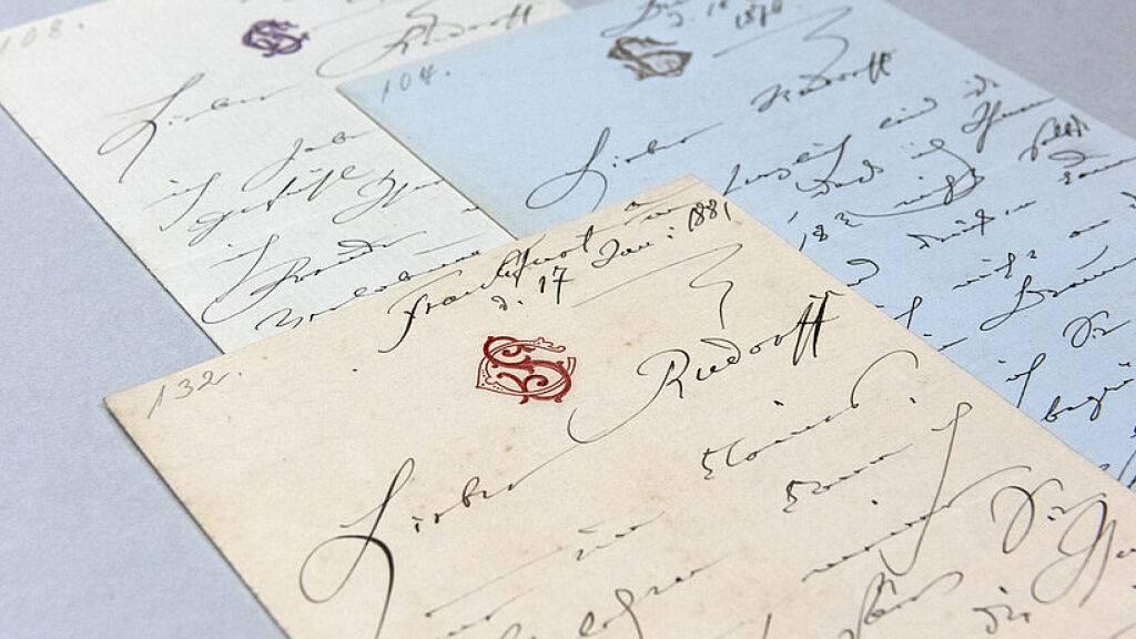 Bedeutende Briefwechsel aus der Musikwelt in öffentlicher Hand