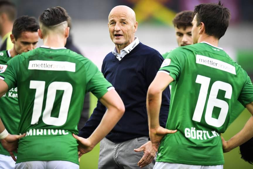 Führt Peter Zeidler den FC St.Gallen zum nächsten Sieg?