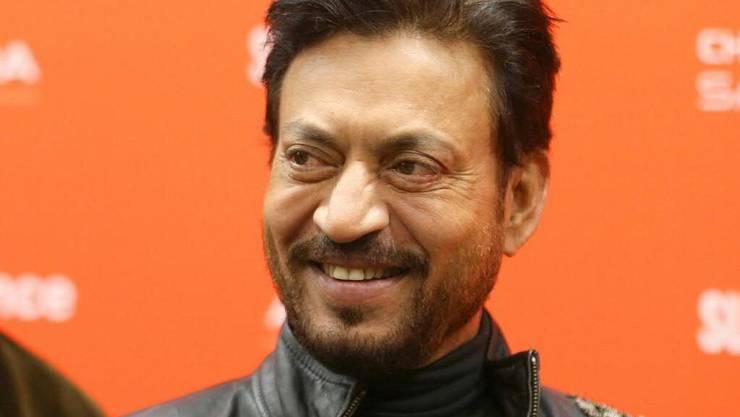 Der indische Schauspieler Irrfan Khan ist im Alter von 53 Jahren gestorben. (Archivbild)