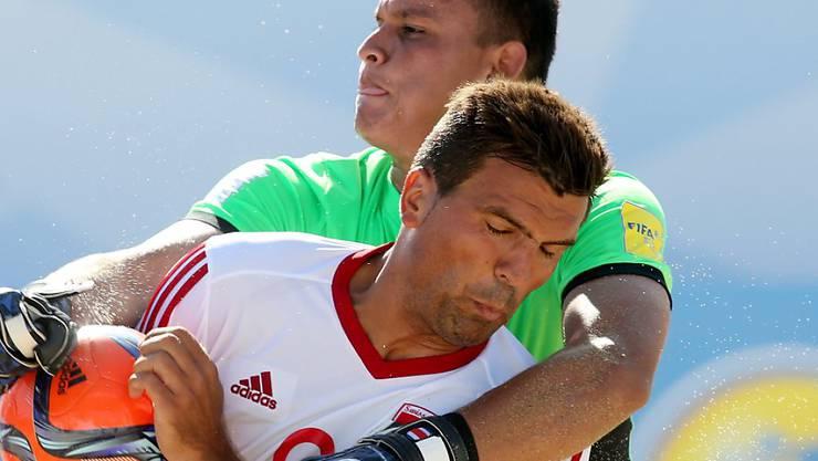 Schweizer Strand-Kicker mühten sich zum Sieg