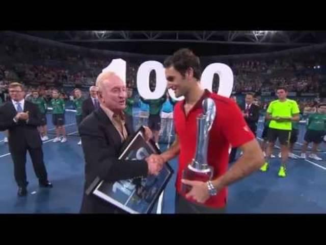Roger Federer: 1000 wins - Brisbane International 2015
