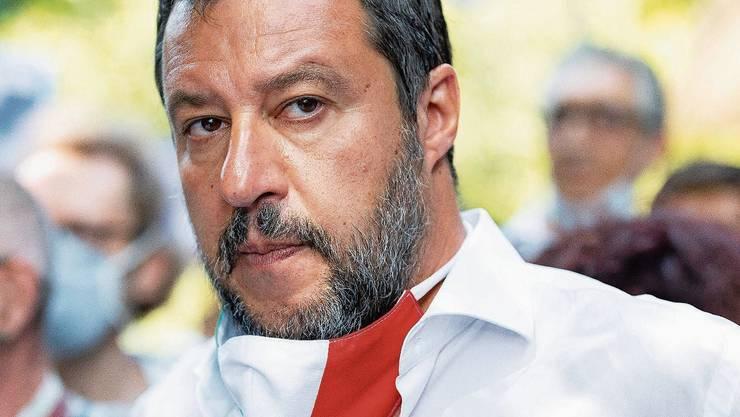Bislang ist Matteo Salvini das Gesicht der Rechten in Italien. Das könnte sich ändern.