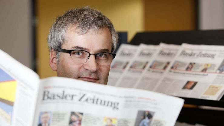 Der NZZ-Verwaltungsrat konnte Markus Somm als Chefredaktor nicht durchbringen. (Archiv)