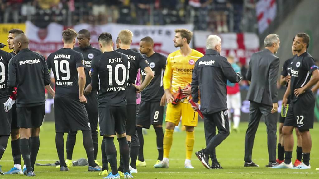 Arsenal beendet die Frankfurter Heimserie
