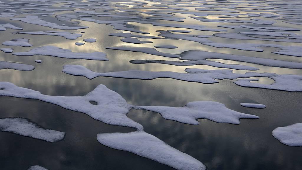 Wintereis in der Beringsee schmilzt rasant