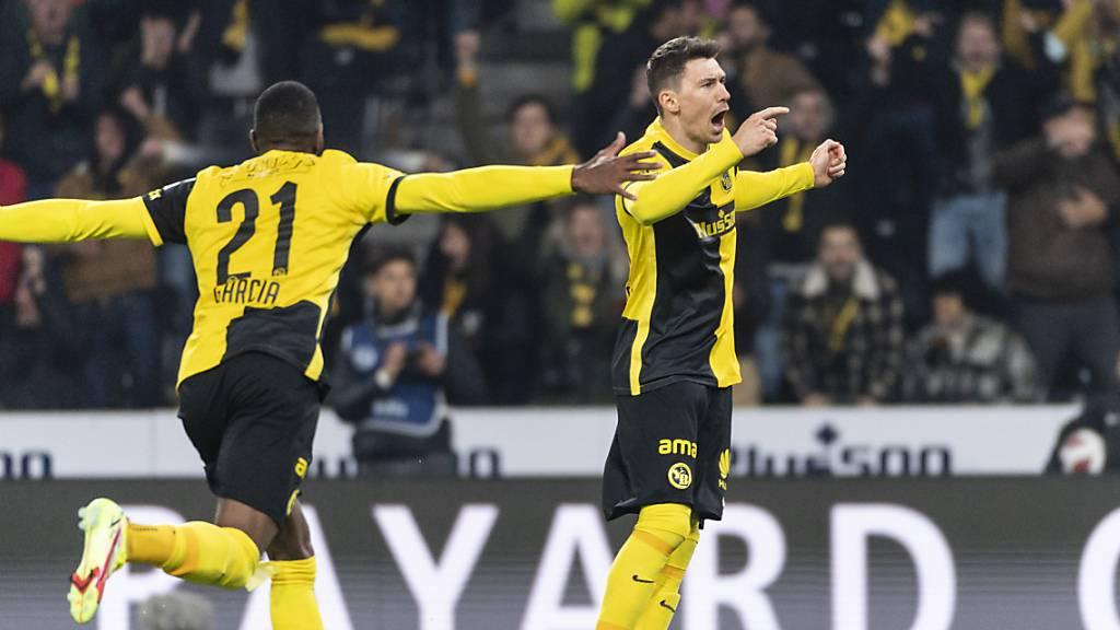 Young Boys dank zwei Toren in der YB-Viertelstunde auf Rang 2
