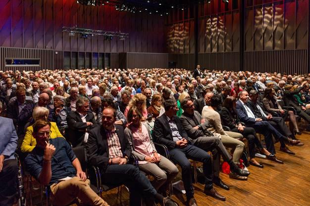 Impressionen von der Generalversammlung 2018 des Grandcasino Baden im Trafo Kongresszentrum.