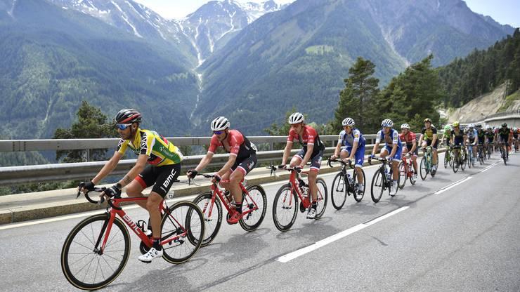 Die Etappe führte die Radprofis von Bex nach Cevio.