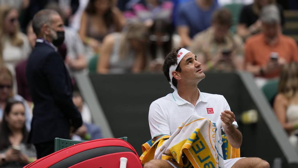 Federer in Wimbledon nach Umweg in die Achtelfinals