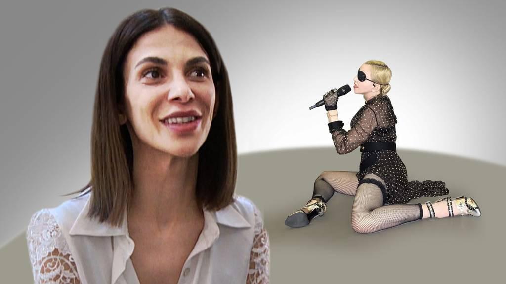 Zürcherin designt Kleid für Madonna