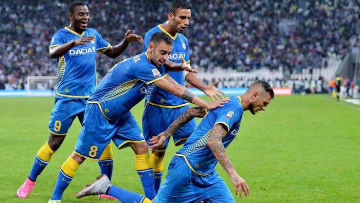 Grosser Jubel bei Udinese