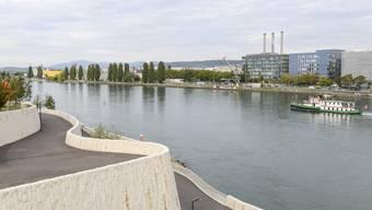 Kriegt die Schifffahrt unterhalb der Dreirosenbrücke Zuwachs?