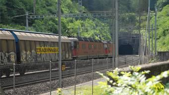 Voraussichtlich 2020 soll der neue Bözberg-Eisenbahntunnel in Betrieb gehen.