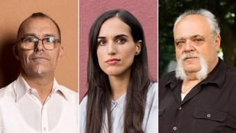 Stéphane Lhuissier, Lea Dudzik und Daniel Bühlmann (v.l.) durchleben aktuell schwierige Zeiten – die Schuld trägt die Corona-Pandemie.