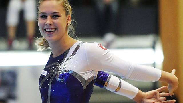 Giulia Steingruber heute im Hallenstadion