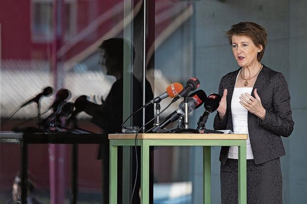 Forderte einen Ruck durchs Land: SP-Bundespräsidentin Simonetta Sommaruga.