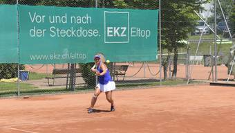 Jenny Dürst konnte nicht so intensiv trainieren wie gewohnt, gilt aber als Hoffnungsträgerin für die nächste Saison des TC Weihermatt.