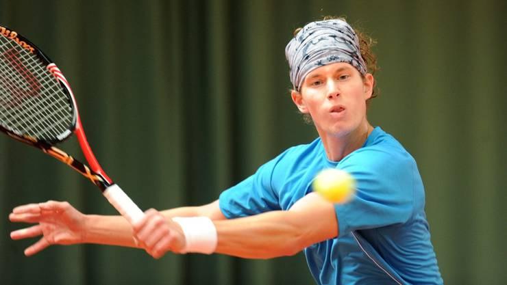 Keine Energie und Schwindelgefühle: Alexander Sadecky verlor den Final in Leuggern.  Alexander Wagner