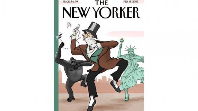 Gangnam Style auf amerikanisch: Der «New Yorker» nimmt die Popkultur auf die Schippe. Foto: HO