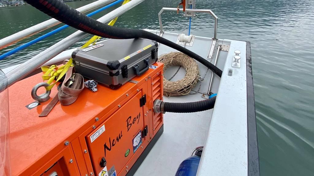 Jetzt kommt eine Sonarsonde zum Einsatz: Suche nach Schiffskapitän wird intensiviert