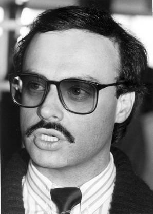 Alfredo Lardelli im Aargauer Obergericht in Aarau, aufgenommen 1991.