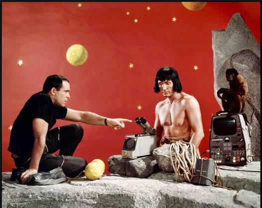 Robinson musste für Science- Fiction-Thriller herhalten: «Robinson Crusoe auf dem Mars».