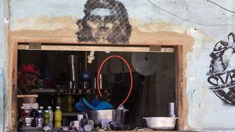 Ein privat lizenzierter Laden für Haushaltswaren in der kubanischen Hauptstadt Havanna.
