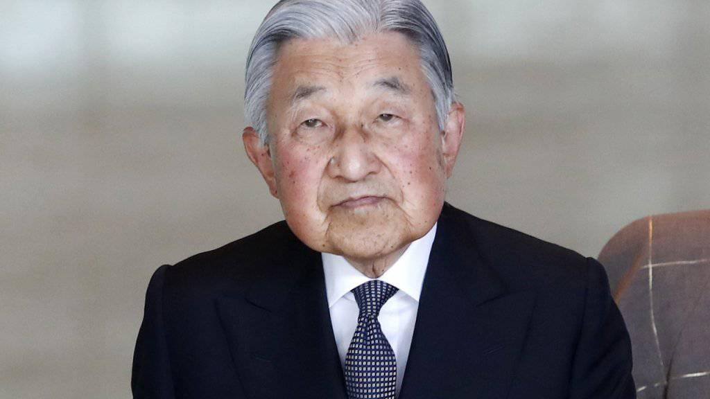 Will aus Gesundheitsgründen bald zurücktreten: Japans Kaiser Akihito.