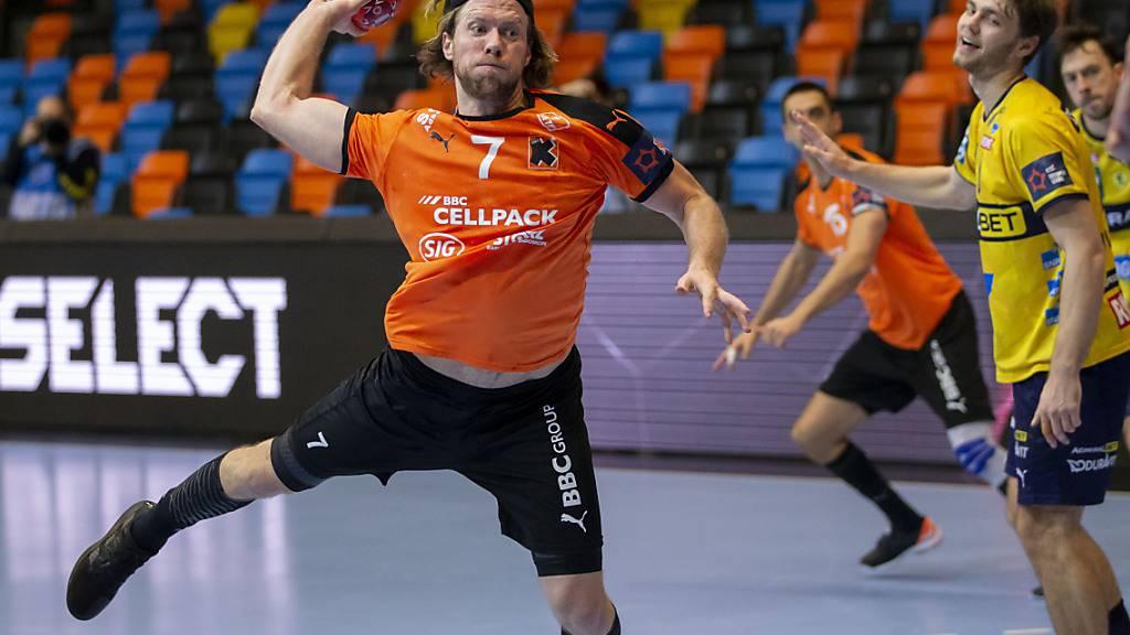 Gabor Csaszar und den Kadetten Schaffhausen geht in der European League etwas die Luft aus