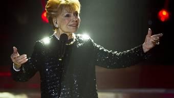 Lys Assia singt am 10. Dezember an der Eurovisions-Vorentscheidung in Kreuzlingen (Archiv)