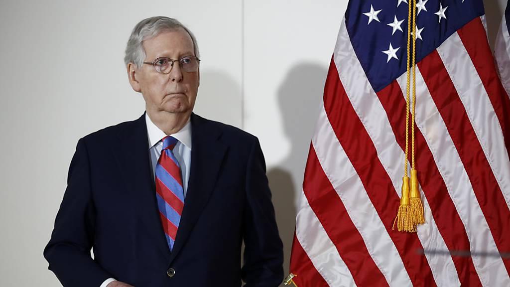 Republikaner im Senat planen mit Abstimmung über Ginsburg-Nachfolge