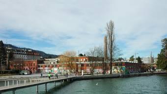 Die Rote Fabrik am See in Zürich zählt heute zu den etablierten Kulturhäusern der Stadt.