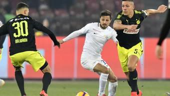 1,68 Meter klein, aber ein Grosser am Ball: Antonio Marchesano (Mitte) möchte spielen wie seine Vorbilder Del Piero und Zidane.