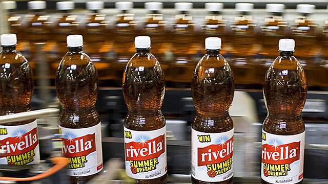 Rivella ist auch im Ausland beliebt.