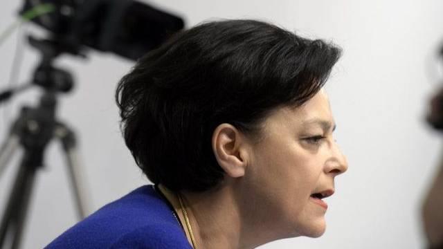 Die Zürcher Regierungsrätin und Finanzdirektorin Ursula Gut (FDP) (Archiv)