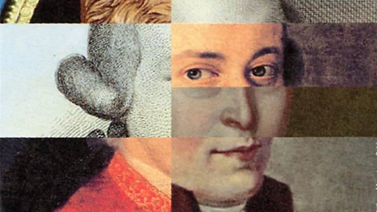 Man weiss nicht genau, wie Mozart ausgesehen hat. Vermutlich war er klein, untersetzt und pockennarbig. ZVG