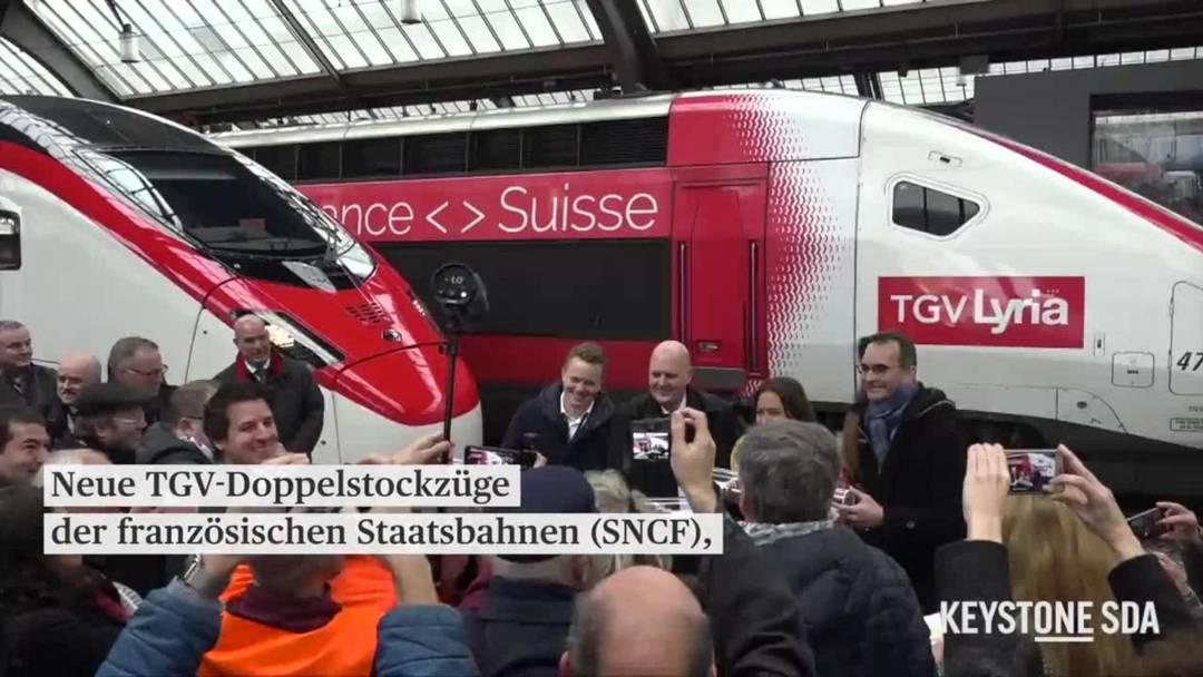 SBB und europäische Partner stellen neuste internationale Züge vor